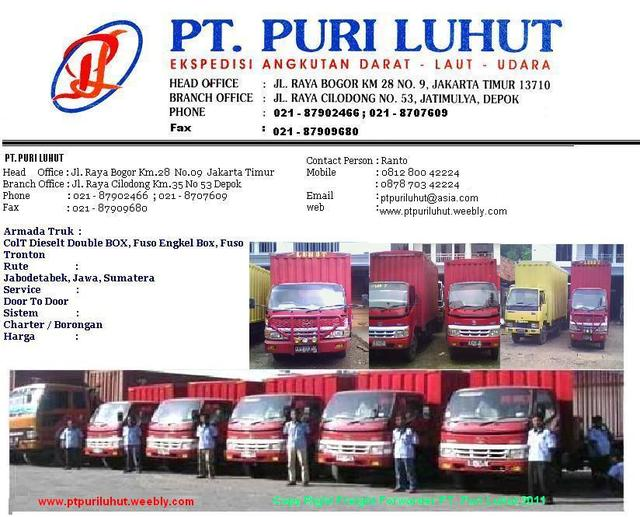 Ptpuriluhut Land Transportation Service